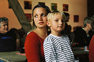 Maria Köpcke with Son Lovis